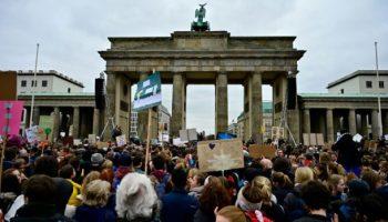Schülerstreik,Klimaschutz ,Berlin
