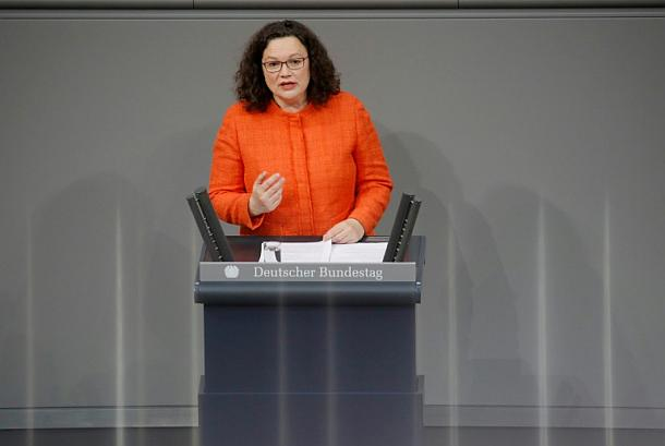 Andrea Nahles,Berlin,Politik,Presse