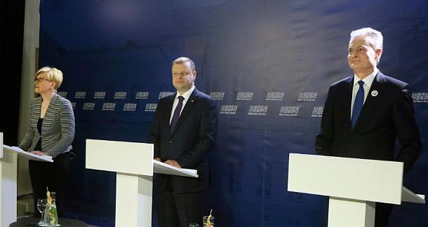 Litauen,Ingrida Simonyte, Saulius Skvernelis ,Gitanas Nauseda,Presse