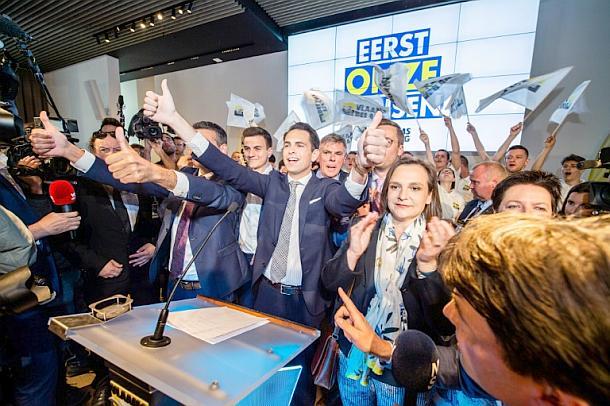 Van Grieken,Belgien,Parlamentswahlen