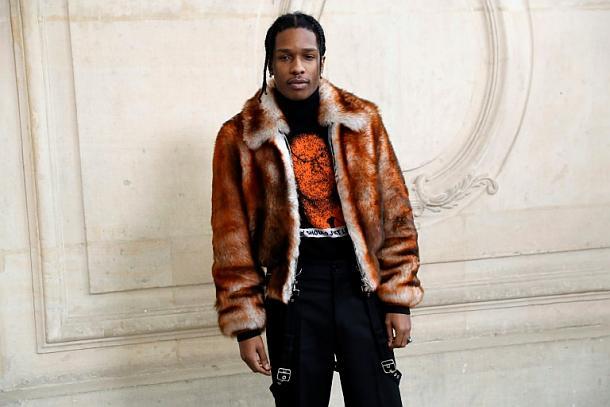 US-Rapper A$AP Rocky,People,Medien,News,Presse