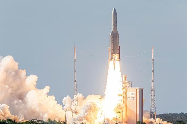 Ariane-5-Rakete,Kourou,Presse,News,Aktuelle,Nachrichten,Medien