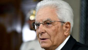 Sergio Mattarella, Italien,Presse,News,Medien,Aktuelle,Politik