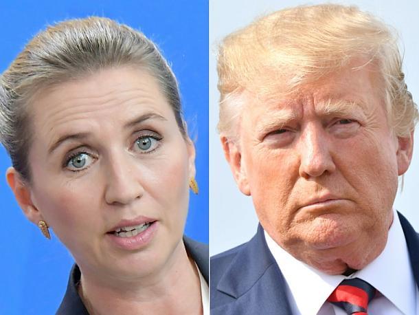Präsident, Donald Trump,Mette Frederiksen,People,Presse,Nachrichten,Medien,Aktuelle
