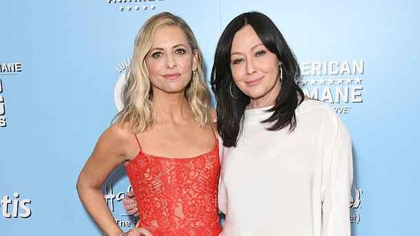 Beverly Hills ,Sarah Michelle Gellar,Shannen Doherty,Starnews,Medien,Presse,Aktuelle,People
