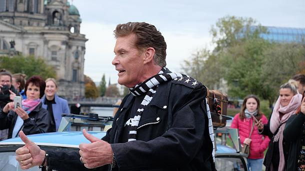 David Hasselhoff,Berlin,Presse,News,Medie,Aktuelle,Trabi-Fan,Starnews,People