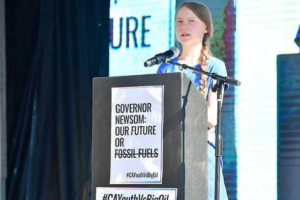 Greta Thunberg,Kalifornien,Klimakrise,Presse,News,Medien,Aktuelle