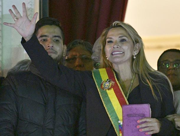 Jeanine Áñez,Bolivien,Presse,News,Medien,Politik,Nachrichten,Presse.Online