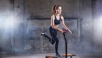Trampolin,Fitness,Step Aerobic,Sport,Gesundheit,Presse,News,Medien,Aktuelle