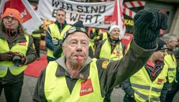 Gewerkschaftskundgebung,Berlin,Presse,News,Medien,Aktuelle