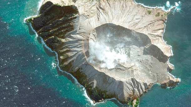 Neuseeland- Experten können Leichen von Vulkaninsel nicht bergen