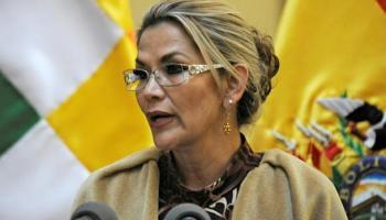 Jeanine Áñez,Bolivien,Politik,Presse,News,Medien