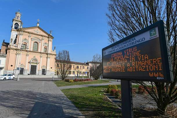 Coronavirus,Italien,Presse,News,Medien,Aktuelle