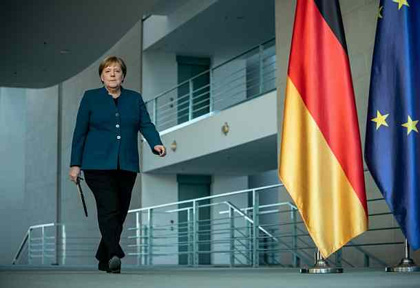 Angela Merkel,Berlin,Virus,Kanzlerin