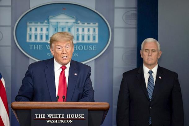 Donald Trump,USA,Corona,Covid,Presse,News,Medien