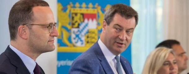 Berliner CDU,CDU,Berlin,Politik,Markus Söder,Jens Spahn,