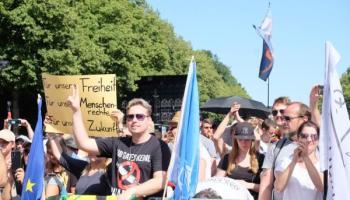 Corona_Demonstranten,Berliner Demo,Berlin,Presse,News,Medien,Aktuelle,