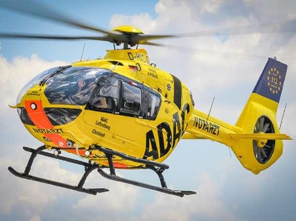 Berlin- Luftrettung stellt modernsten Rettungshubschrauber in Dienst