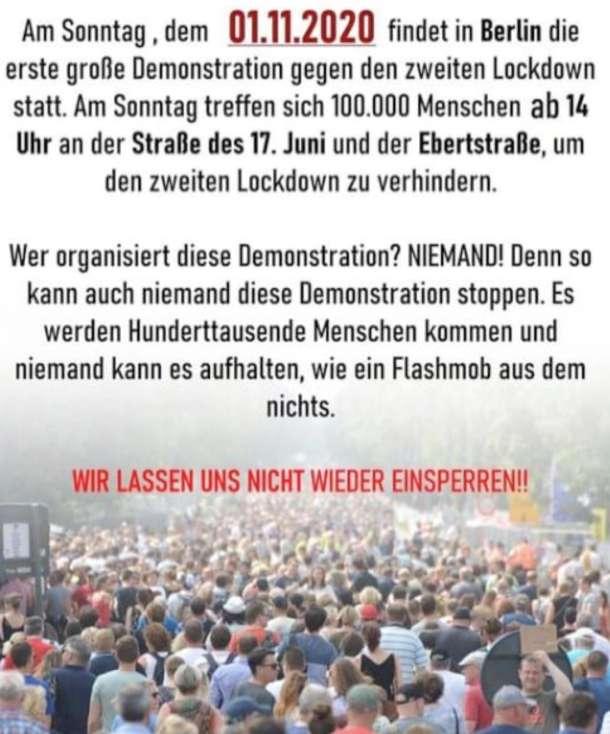 Querdenken,Querdenker,Berlin,News,Medien,Presse,Aktuelle