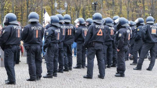 Polizei Berlin,Berlin,Berliner Demo,B1911,News,Medien