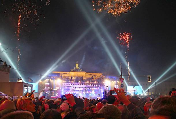 Silvesterparty,Brandenburger Tor,Berlin,News,Medien