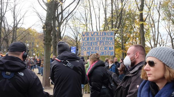 Politik,Berlin,Querdenker,Grünen,Linke,AfD