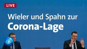 Spahn, Wieler,Drosten,Presse,News,Medien,RKI
