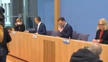 Pressekonferenz,Berlin,Spahn,Wieler,Politik