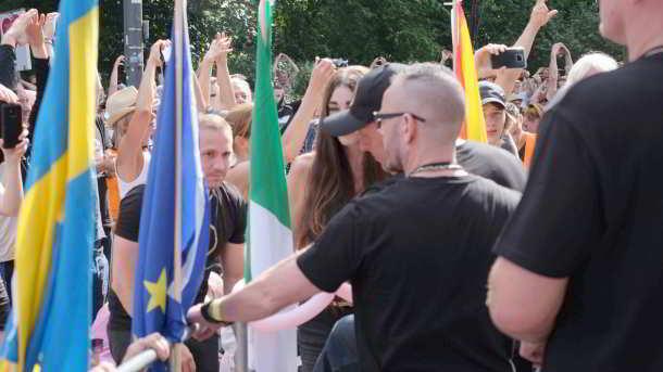 Querdenken Demo,Chemnitz,Presse,News,Medien