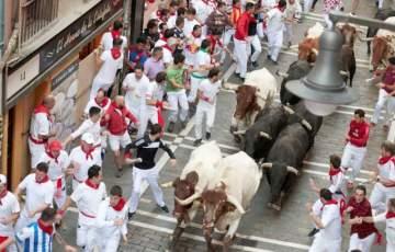 Stierhatz, Sanfermines,Pamplona,Presse,News,Medien