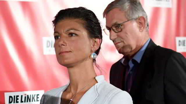 Linken,Sahra Wagenknecht ,Bernd Riexinger,Politik