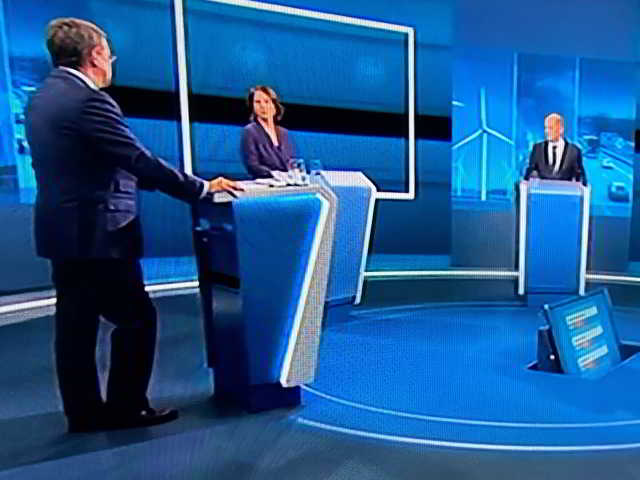 TV-Triell,Berlin,TV,Politik,Presse,News,Medien