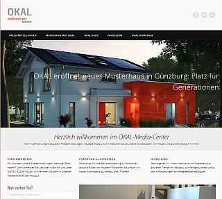Online-Mediacenter von OKAL Haus GmbH