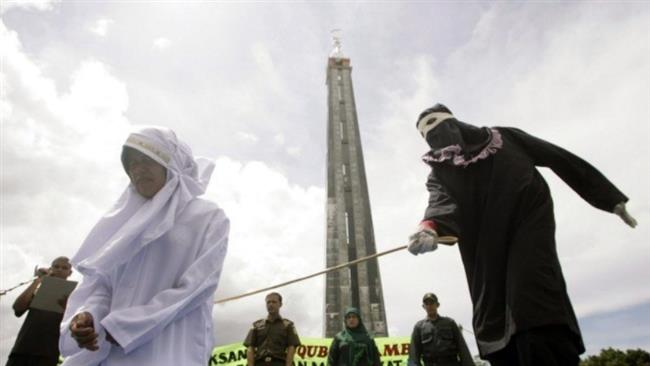 200 Peitschenhieben und 6-monatigen Gefängnisstrafe für Vergewaltigungsopfer