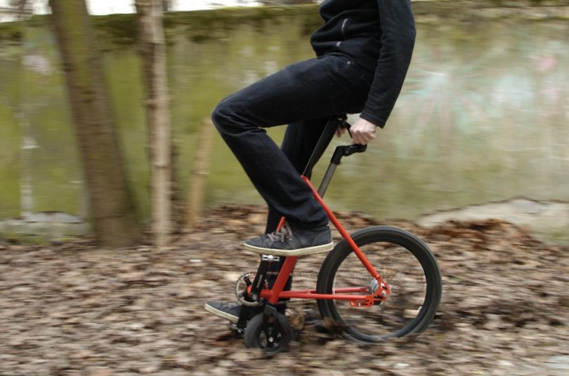 halbrad Funsportbike Innovation Produktneuheit