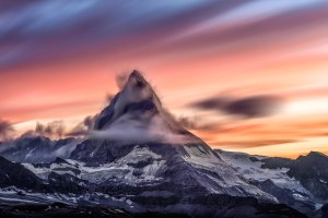 Wallpaper Berg Landschaft