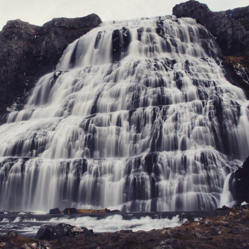 Island - Wasserfall Dynjandi