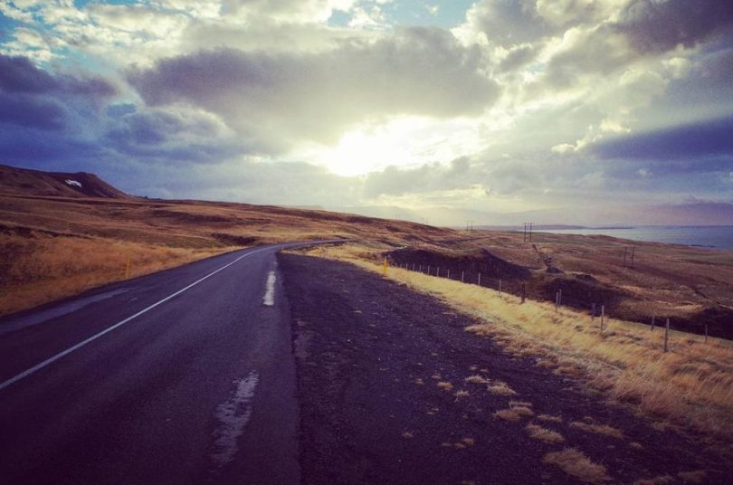 Island - Road