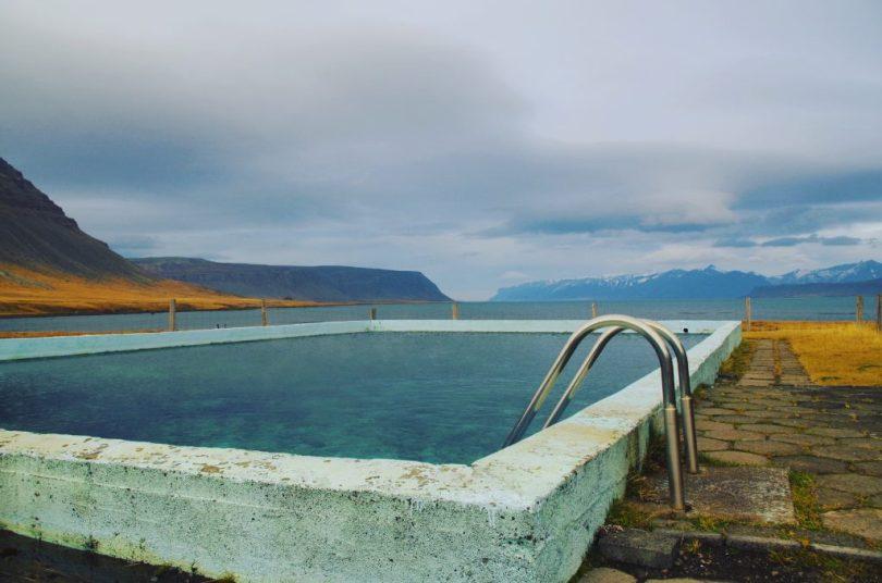 Heiße Quelle Island Swimmingpool