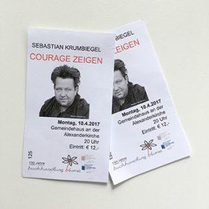 Buchlesung Sebastian Krumbiegel 2017