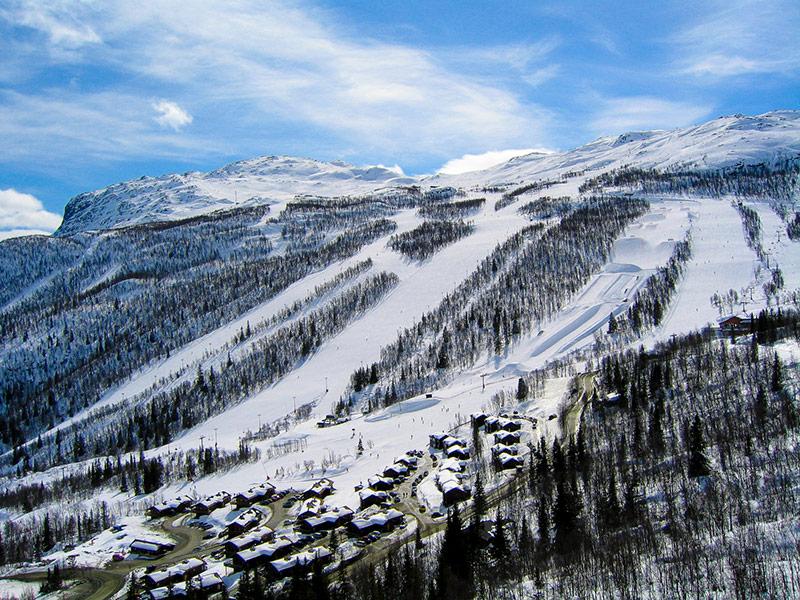 Skigebiet in Schweden