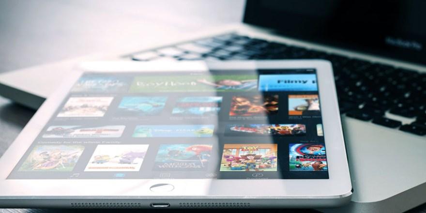 Tablet und Notebook