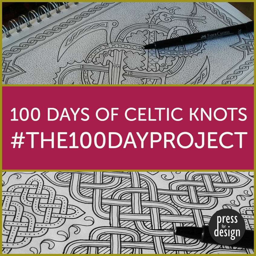 #100daysofcelticknots – project completed!