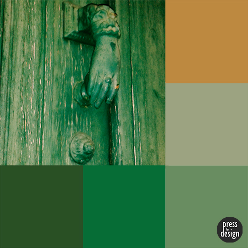 Tuesday Colour Inspiration: Bayonne Door Knocker