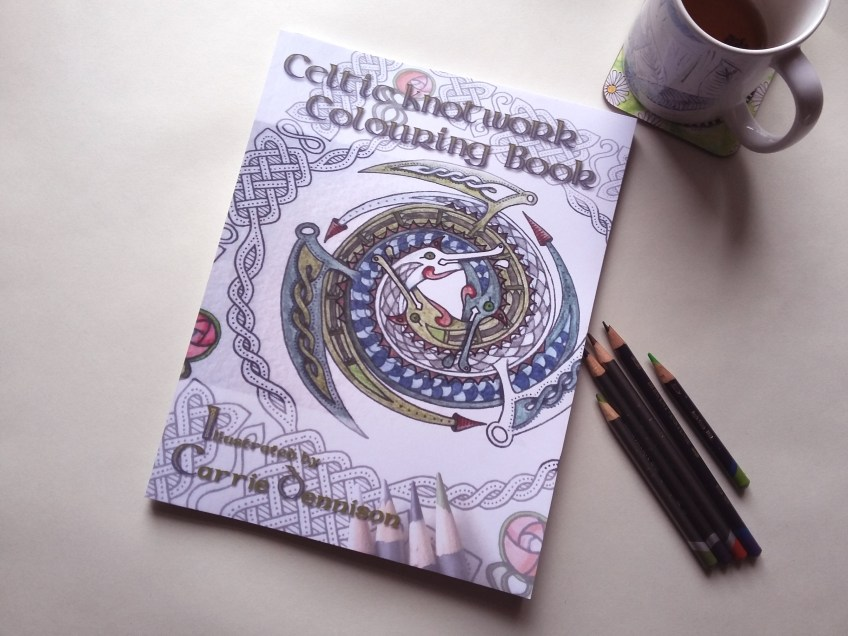 Out now! Celtic Knotwork Colouring Book