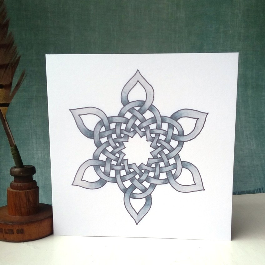New artwork – Celtic Snowflake