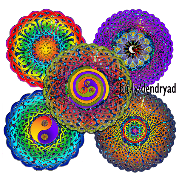 New collection: Celtic Mandala series