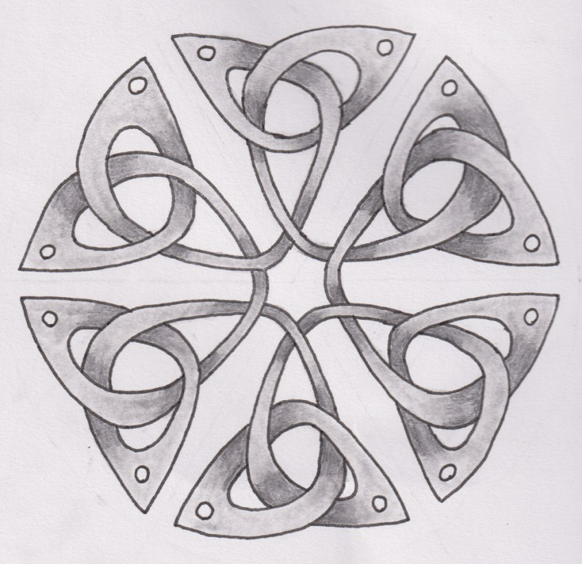 Online Celtic knotwork drawing classes – now live!