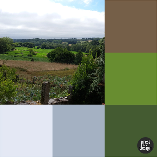 Tuesday colour inspiration – Galician home from home