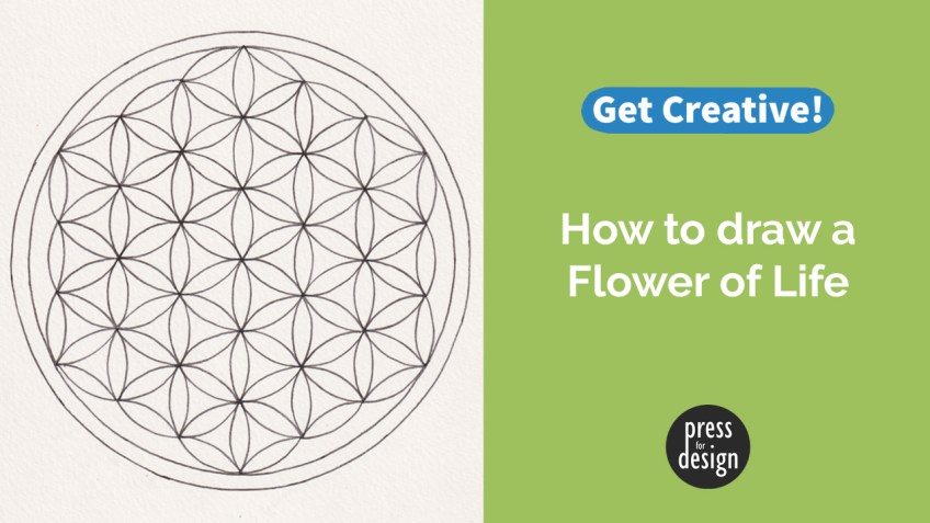 Get Creative: with the Flower of Life
